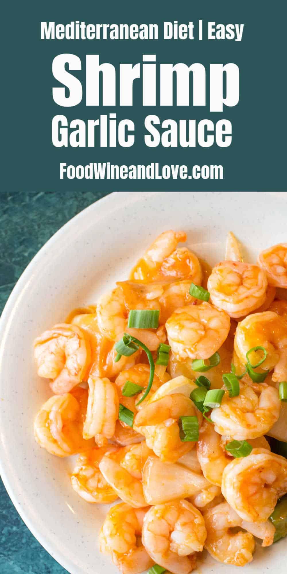 Mediterranean Diet Shrimp in Garlic Sauce