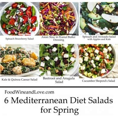 6 Mediterranean Diet Salads for Spring