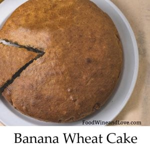 Banana Wheat Flour Cake