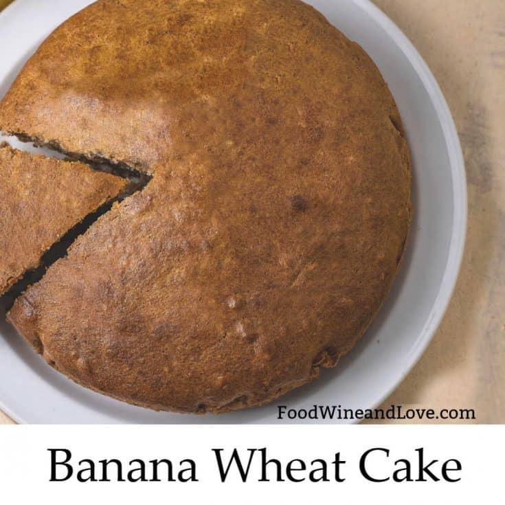 Banana Wheat Flour Cake