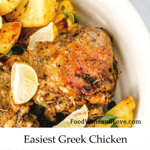 Easiest Greek Chicken