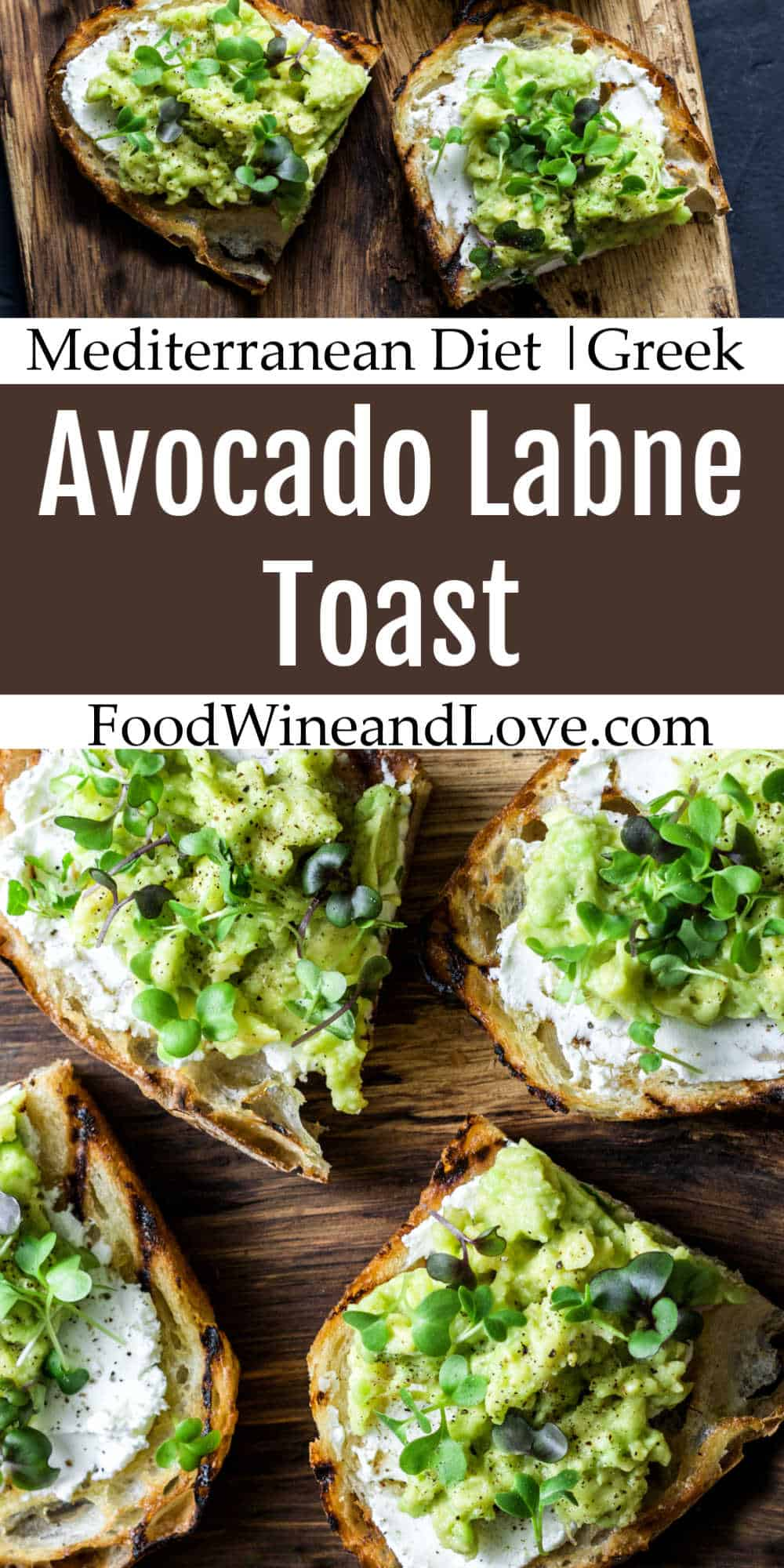 Avocado Labne Toast