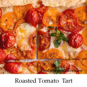 Oven Roasted Tomato Tart