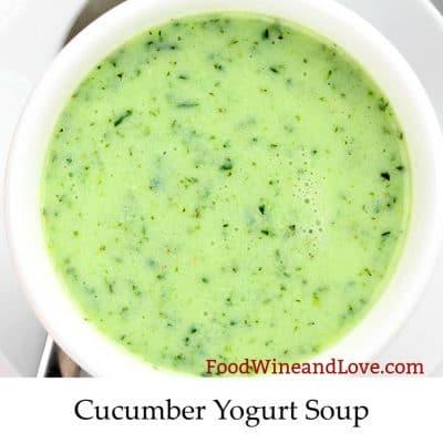 Easy and Creamy Cucumber Yogurt Soup
