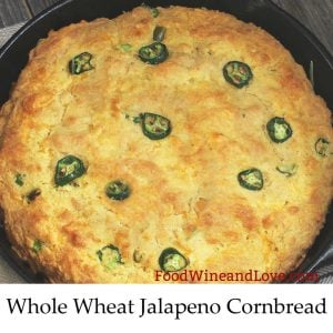 Whole Wheat Jalapeno Cornbread