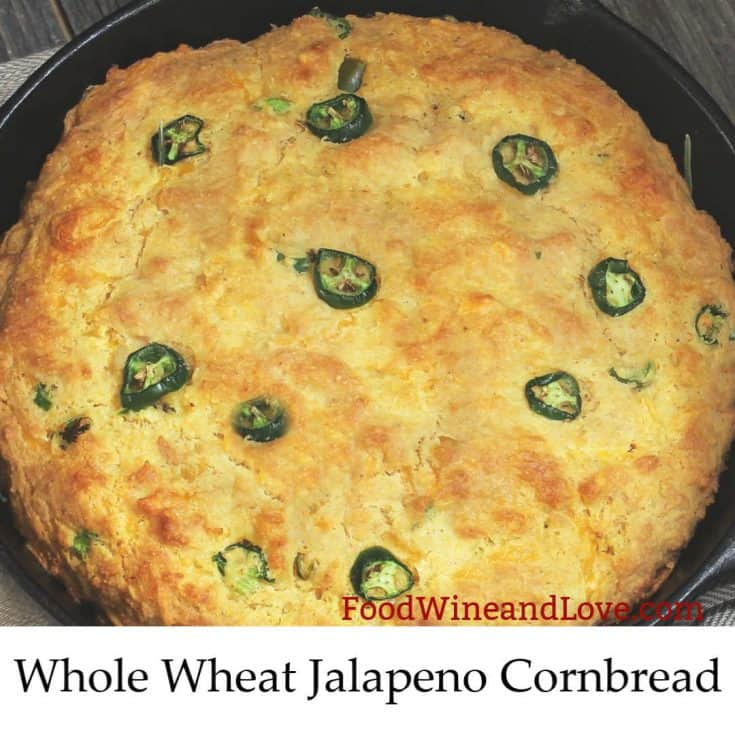Whole Wheat Jalapeno Cornbread