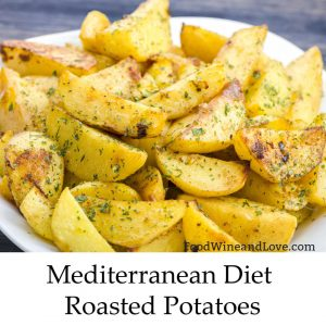Mediterranean Diet Roasted Potatoes