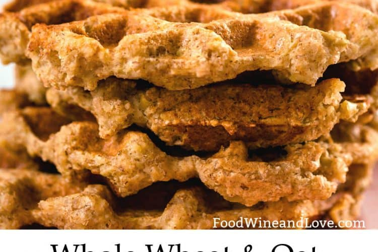 Whole Wheat and Oat Waffles