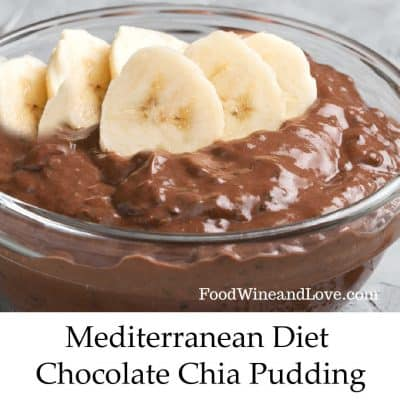 Mediterranean Diet Chocolate Chia Pudding