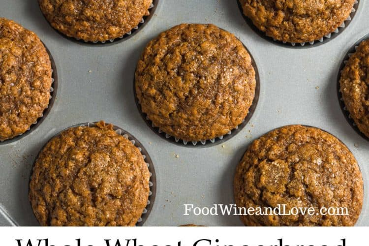 Gingerbread Whole Wheat Muffins