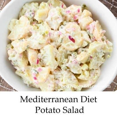 Mediterranean Diet Potato Salad