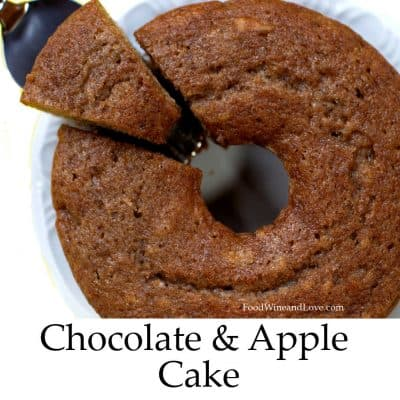 Mediterranean Diet Chocolate Apple Cake