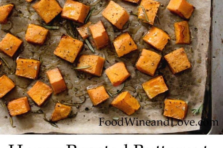 Mediterranean Diet Honey Roasted Butternut Squash