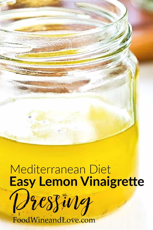 lemon vinaigrette dressing