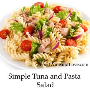 Simple Tuna and Pasta Salad