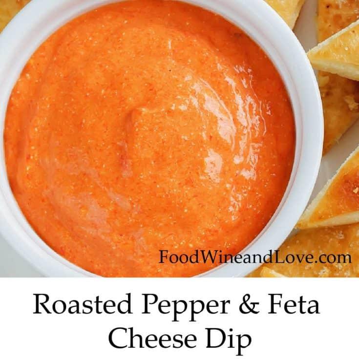 Mediterranean Diet Feta and Pepper Dip