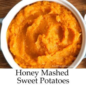 Delicious Honey Mashed Sweet Potatoes