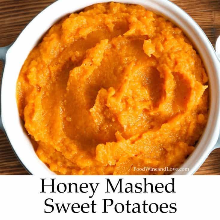 Delicious Honey Mashed Sweet Potatoes