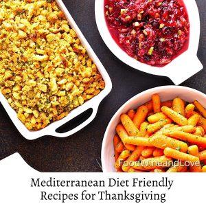 Mediterranean Diet Friendly Recipes for Thanksgiving