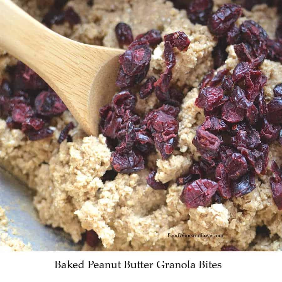 stir oatmeal and raisins