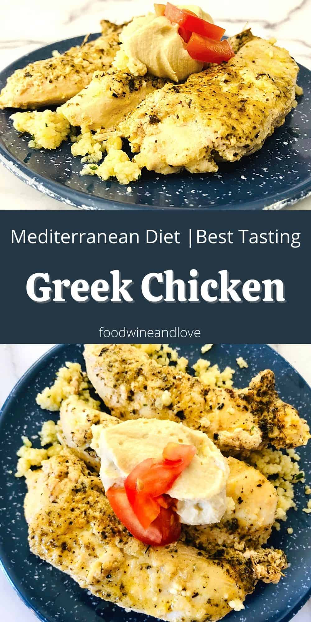 Best Tasting Greek Chicken