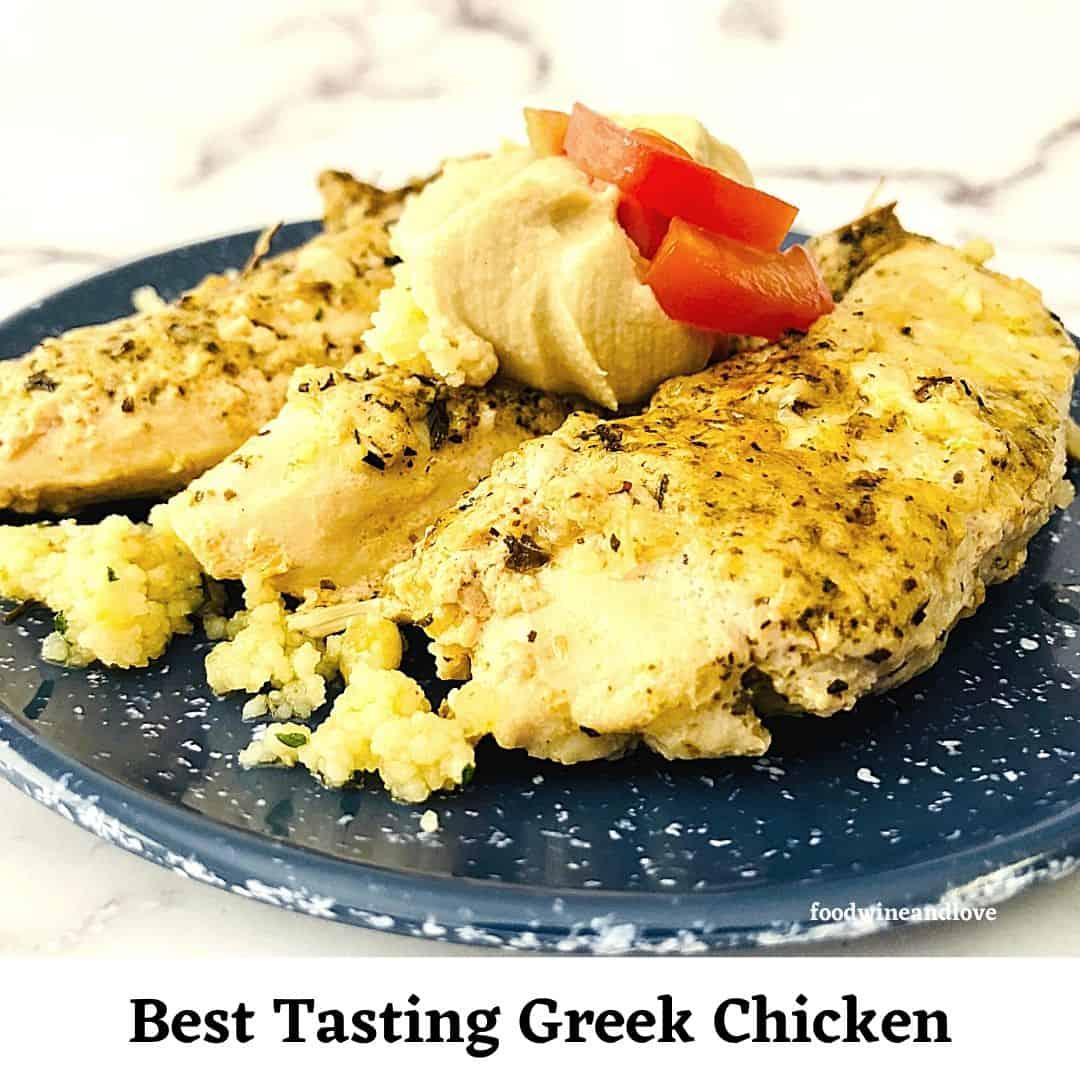 Best Tasting Greek Chicken