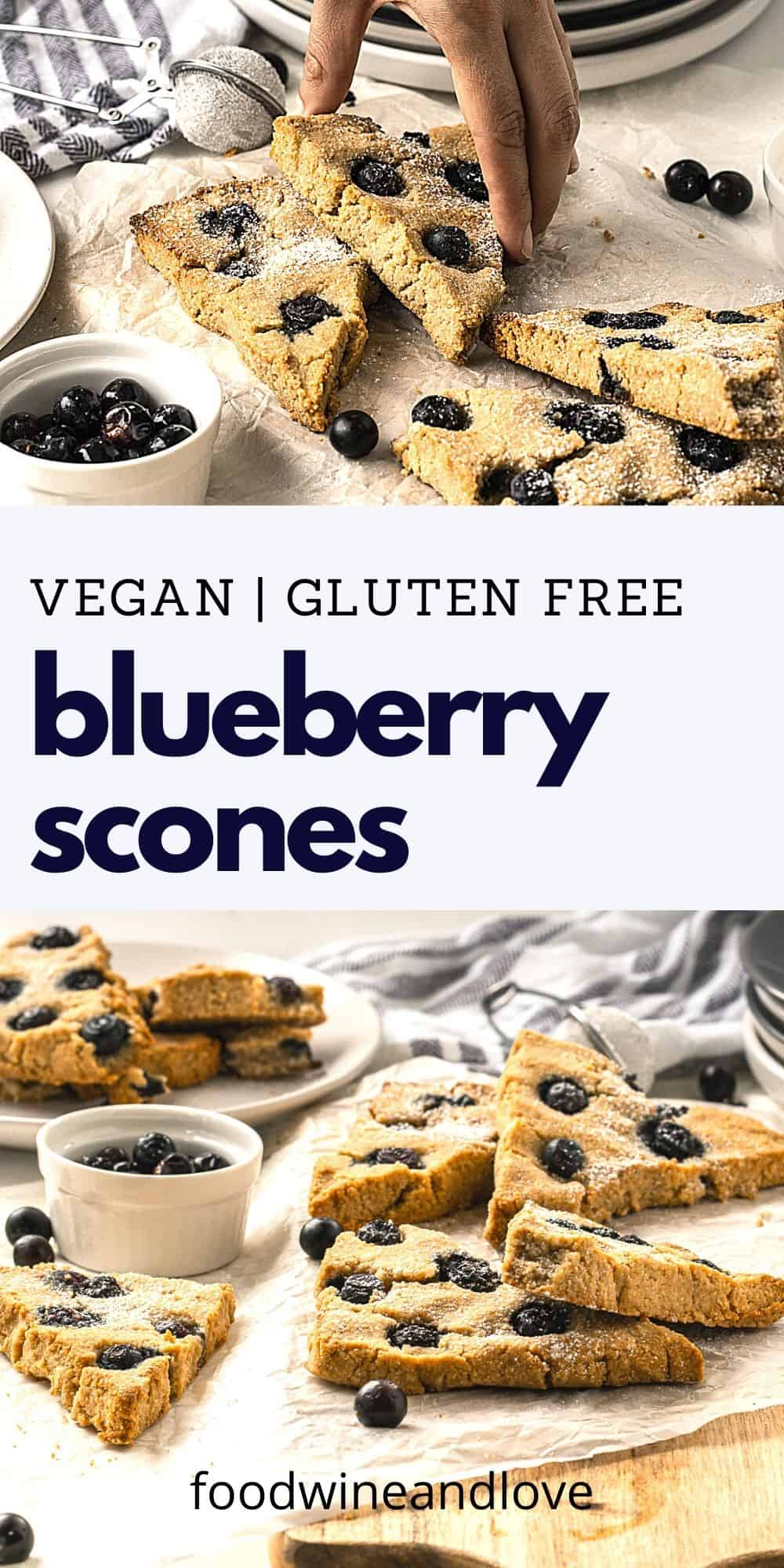Vegan Blueberry Scones