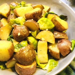 Sheet Pan Lemon Roasted Vegetables