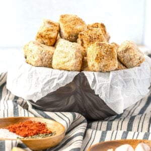 Air Fried Tofu Bites