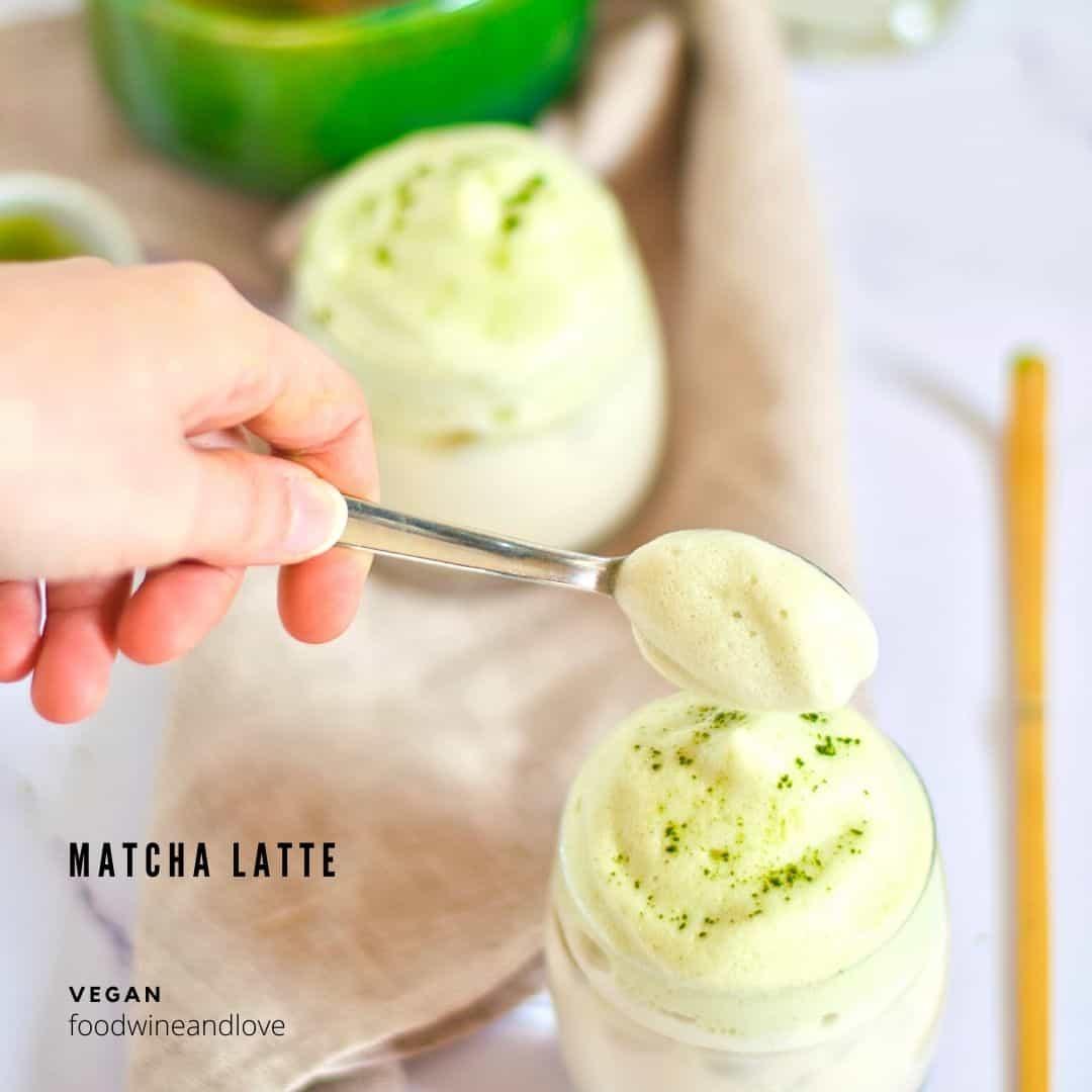 Make a Vegan Matcha Latte
