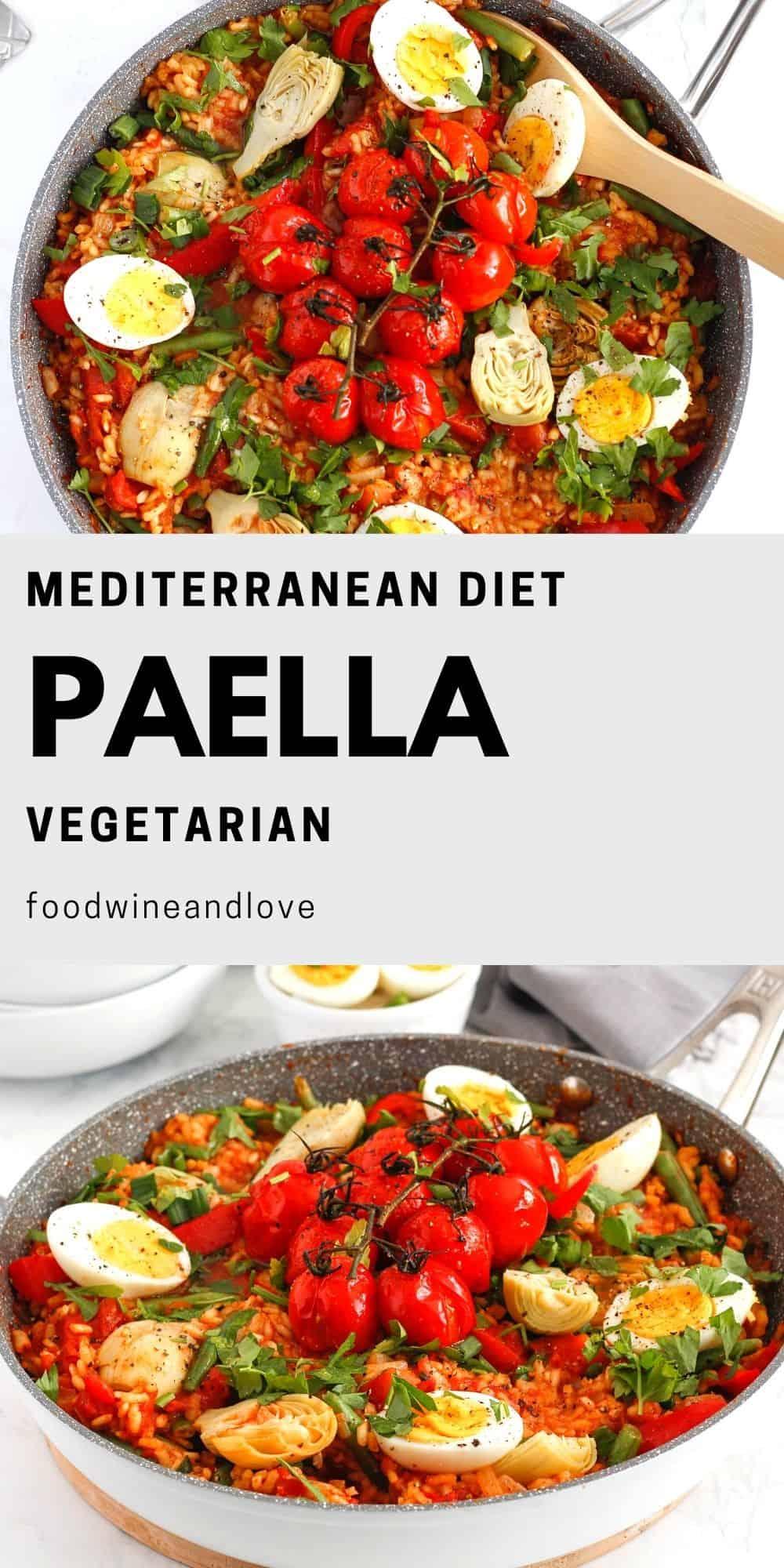 How to Make Vegetarian Paella