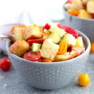 Panzanella With Fruit