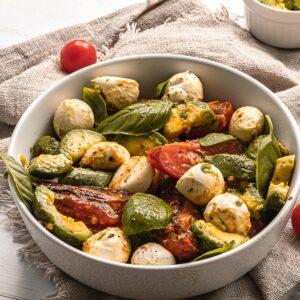 Mediterranean diet Caprese Salad