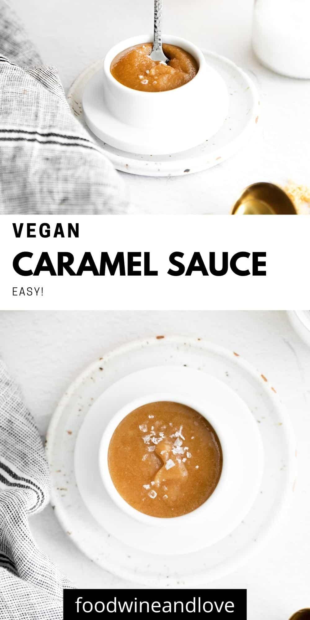 How to Make Vegan Caramel Sauce