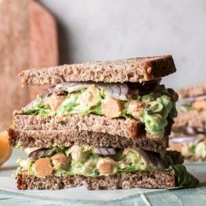 Easy Chickpea Salad Sandwich