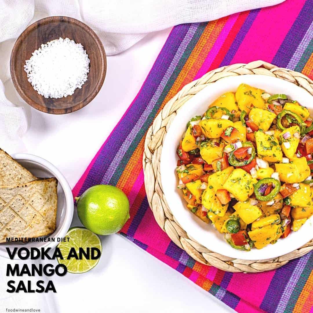 Vodka Mango Salsa