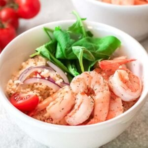 Easy Shrimp Couscous Salad