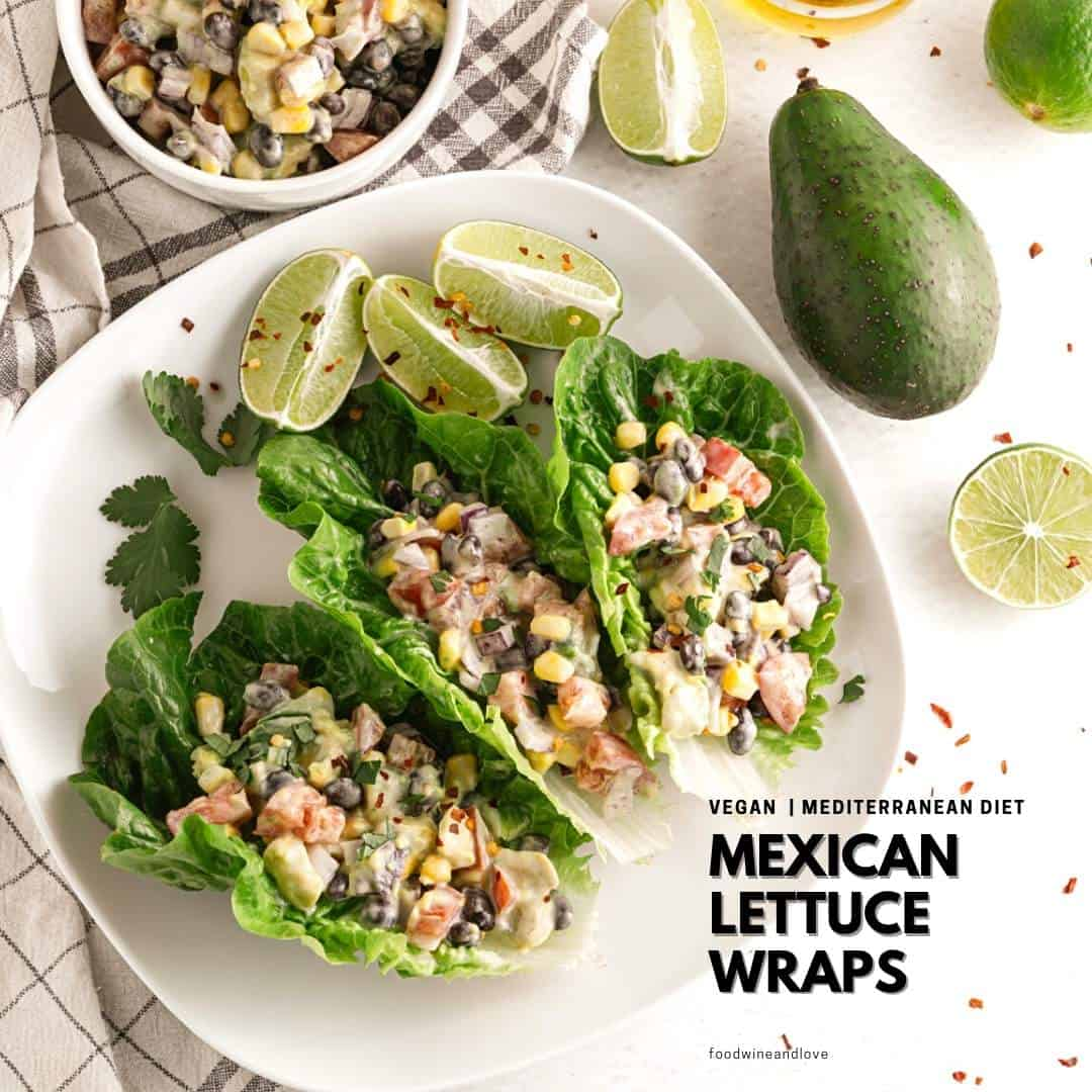 Vegan Mexican Lettuce Wraps