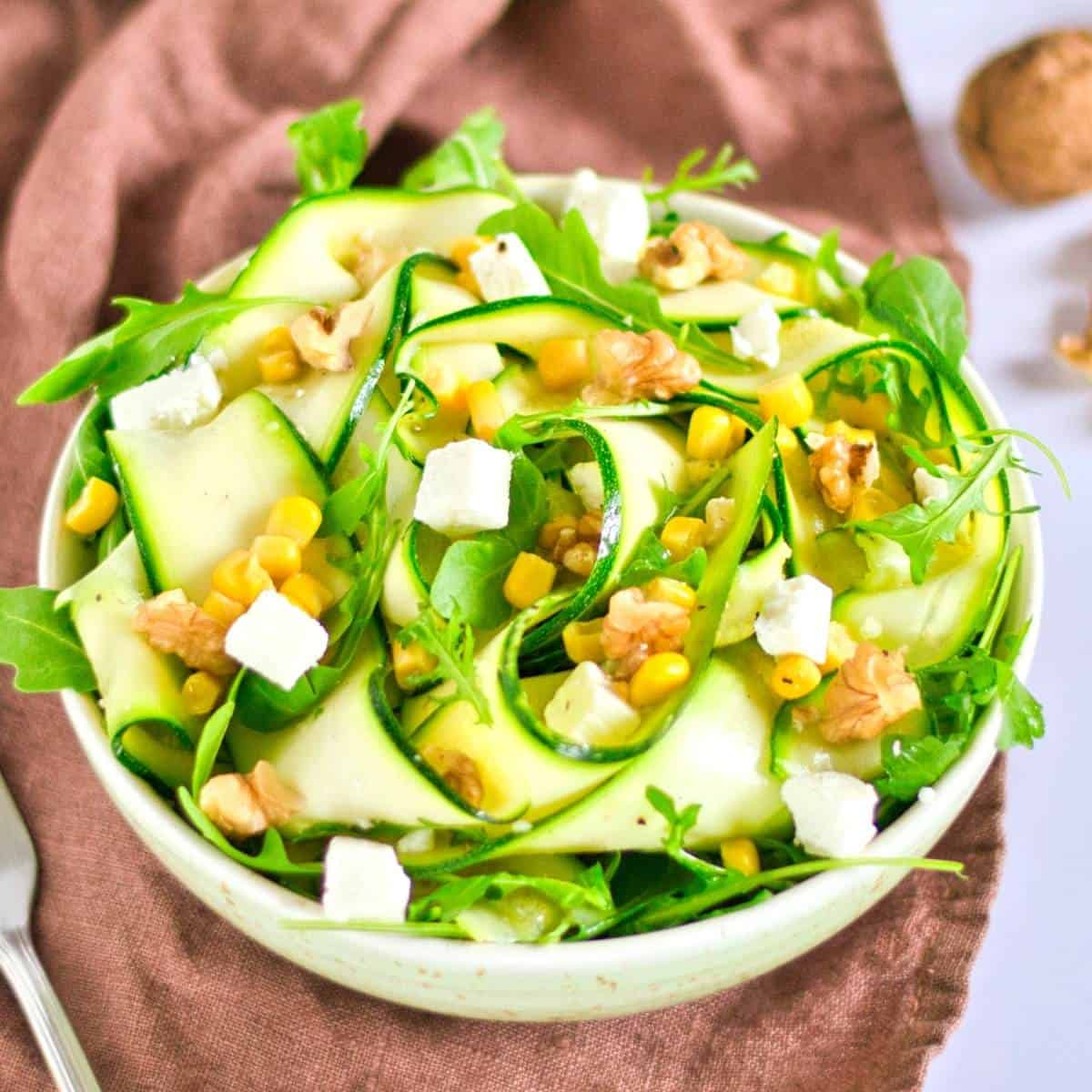 Easy Zucchini Salad