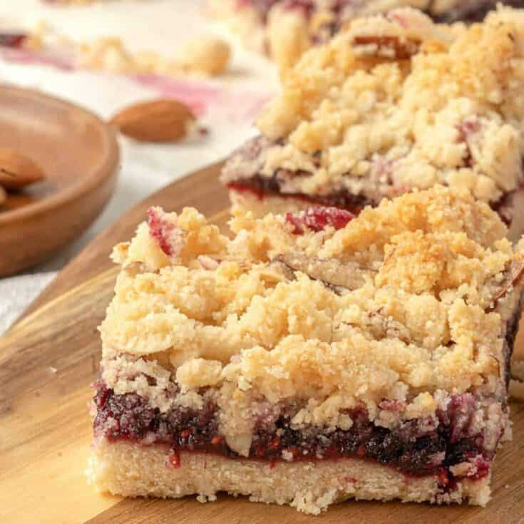 Homemade Vegan Raspberry Crumble