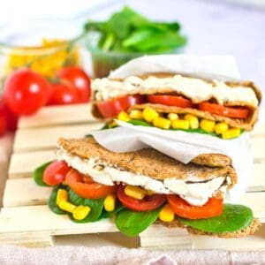 Easy Vegan Lentil Wraps