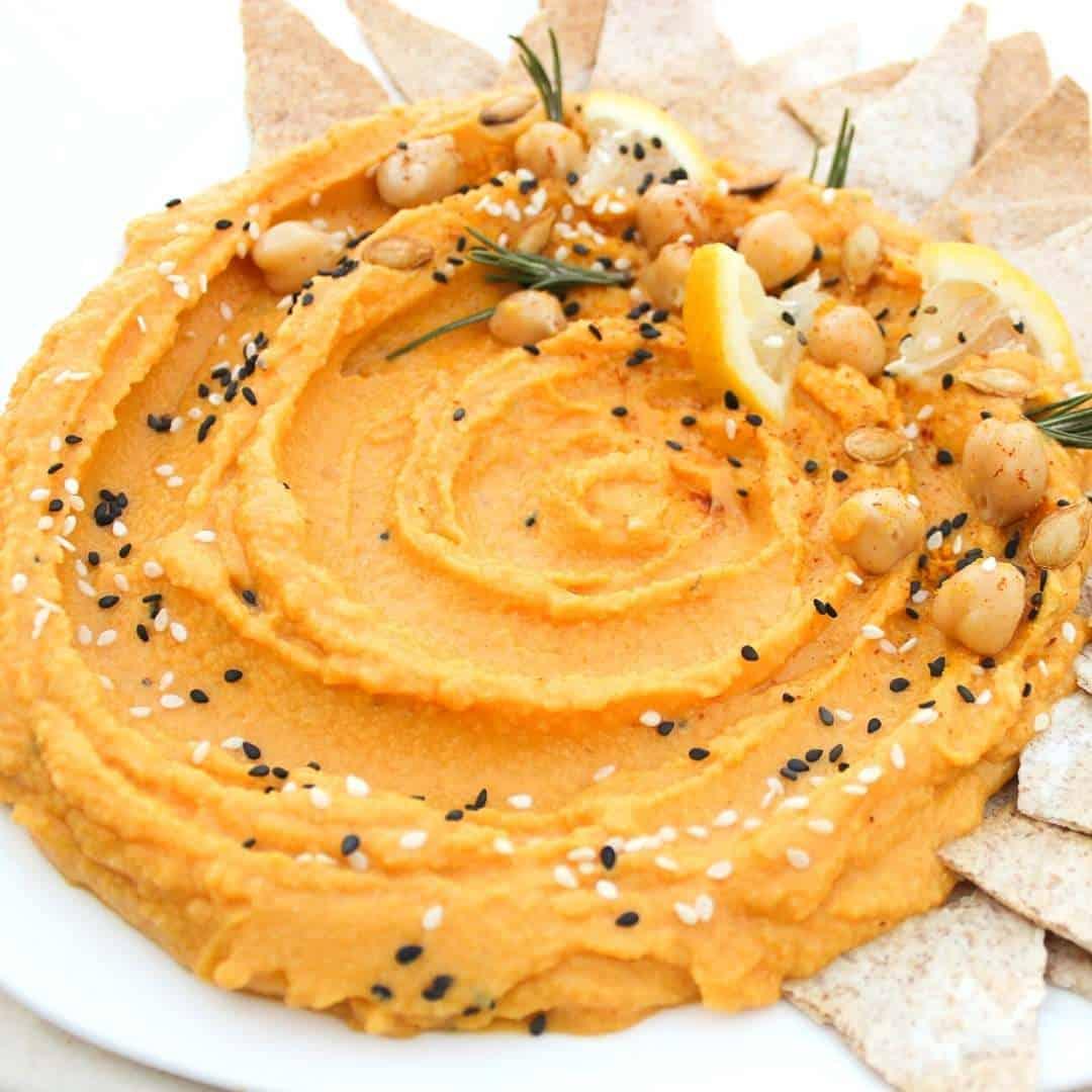 Easy Pumpkin Hummus