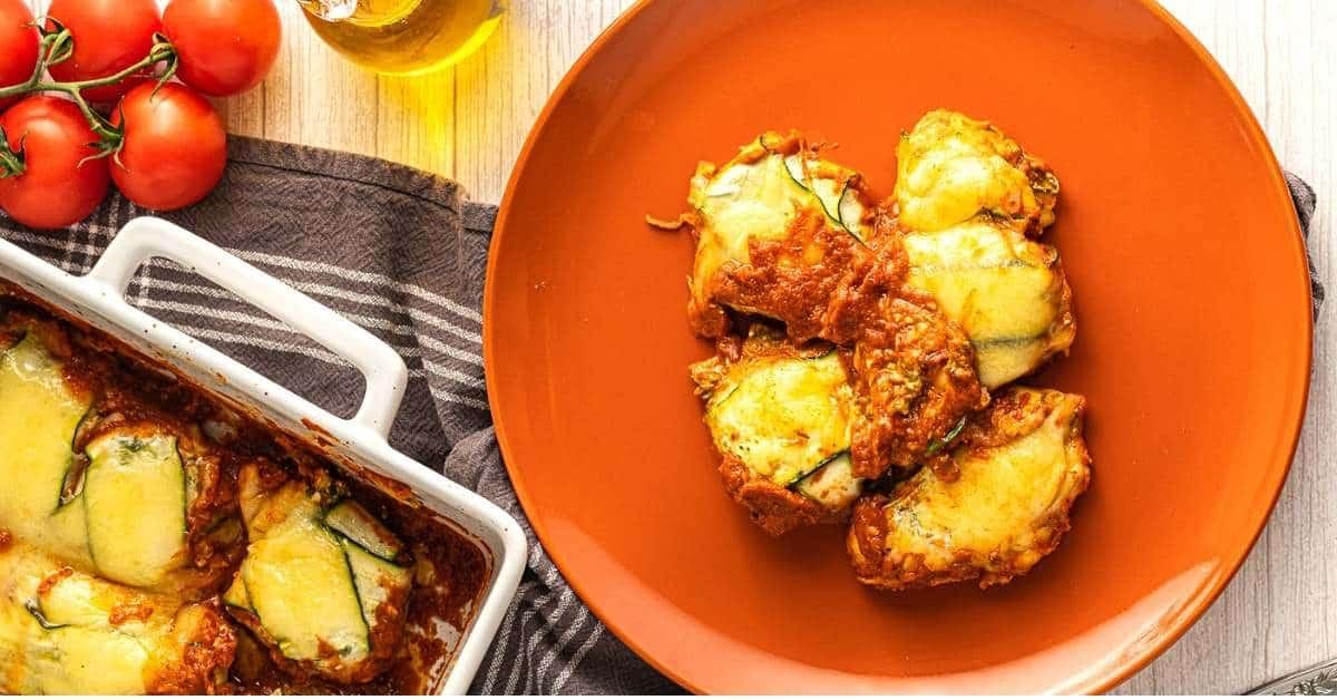Mediterranean Diet Zucchini Ravioli