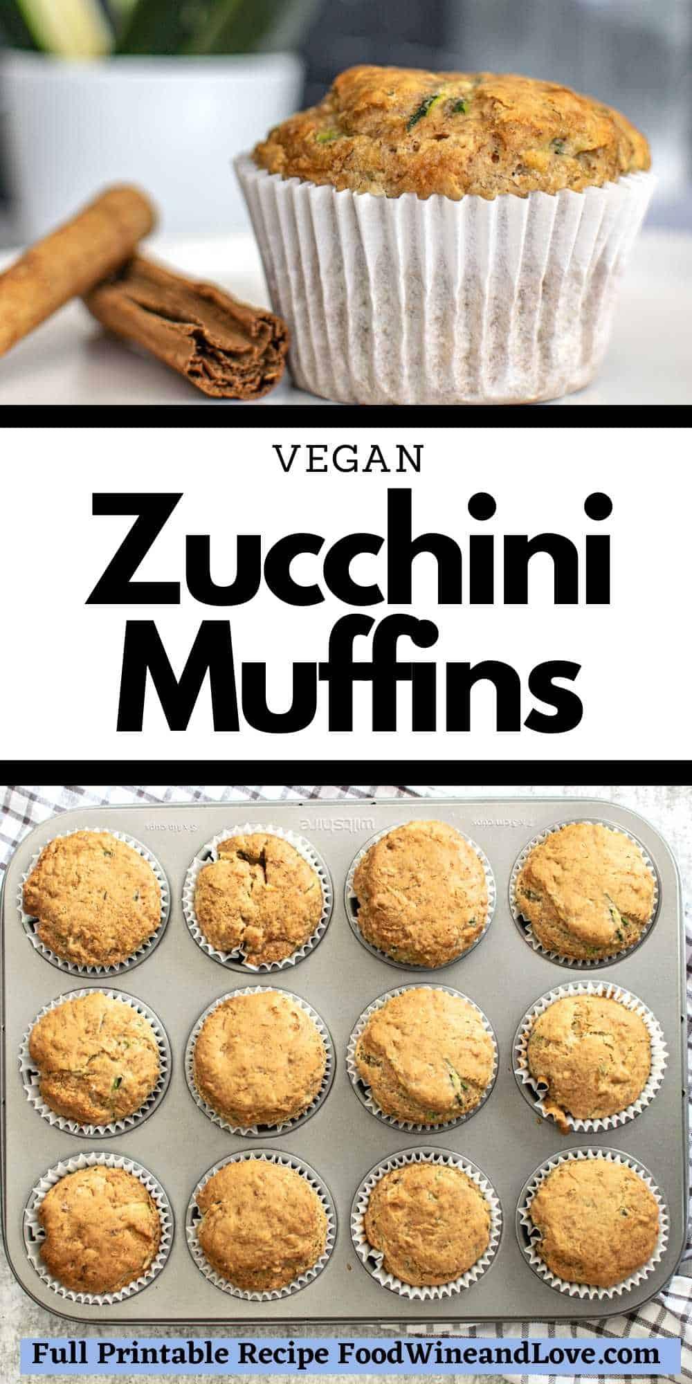 Vegan Zucchini Muffins