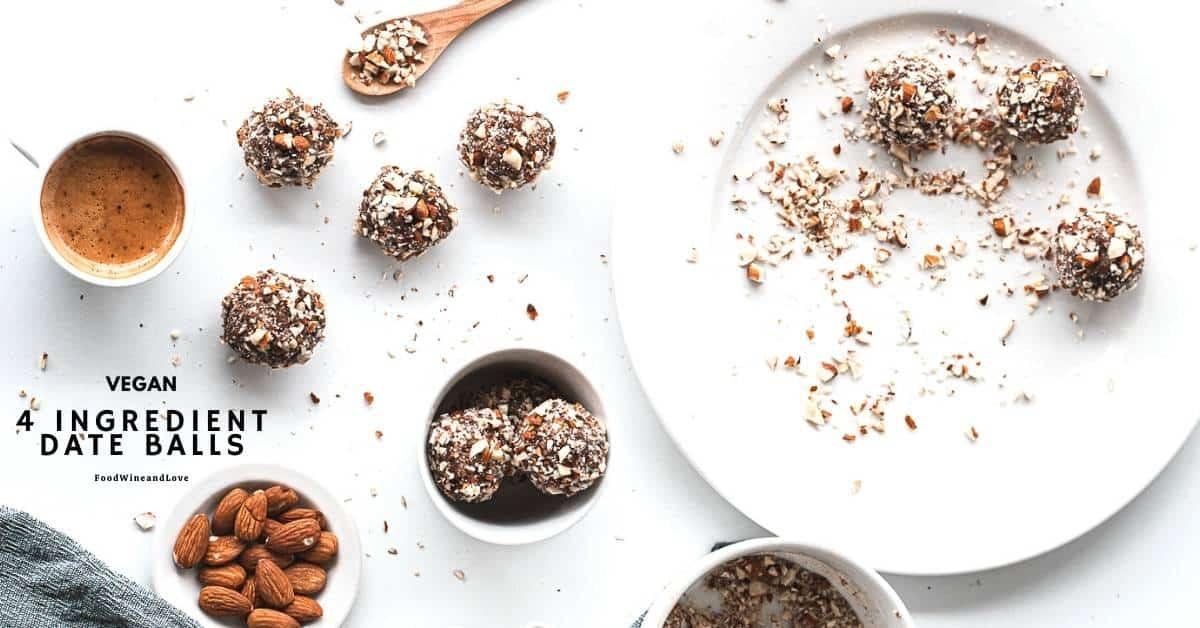 4 Ingredient Date Balls