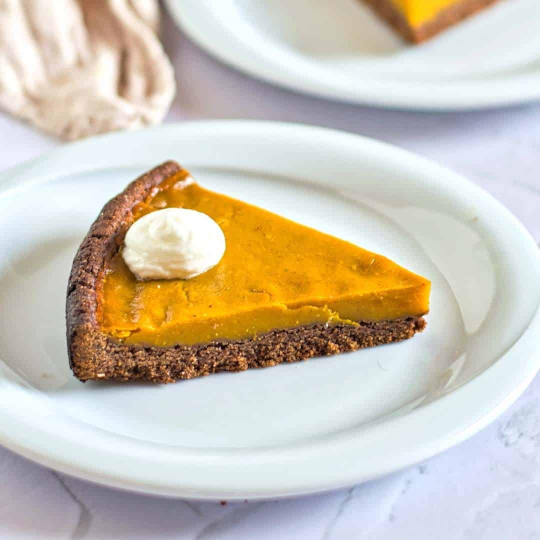 How to make Vegan Pumpkin Pie