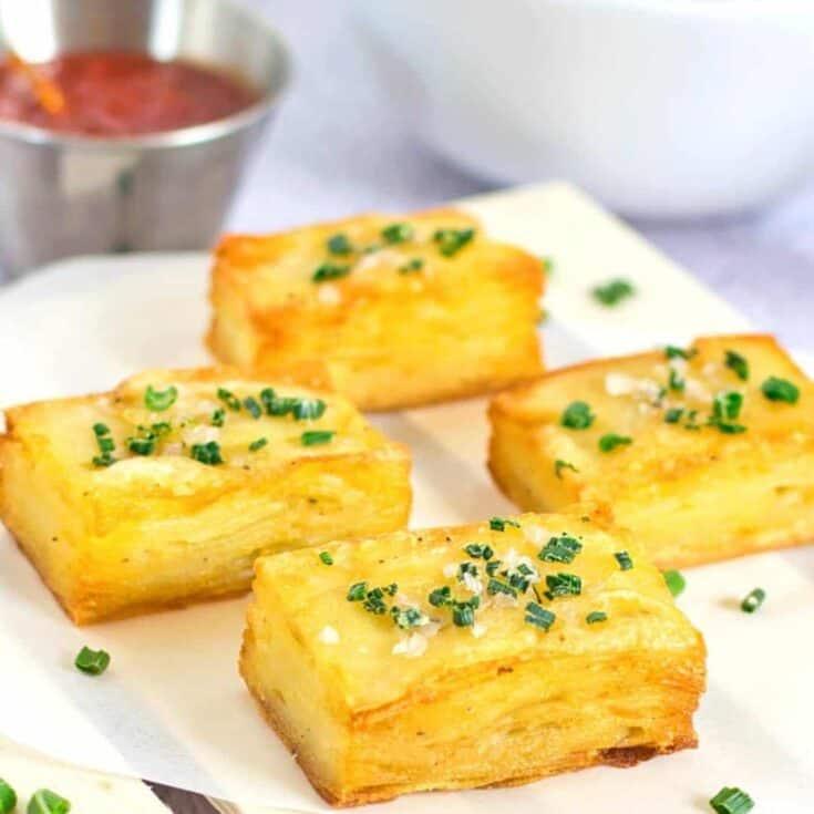 Vegan Baked Potato Pave