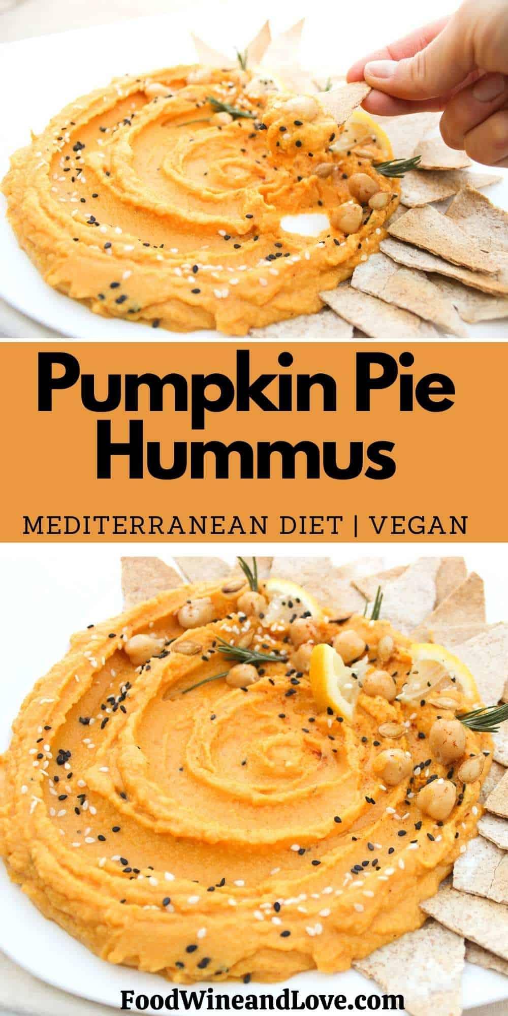 Pumpkin Pie Hummus
